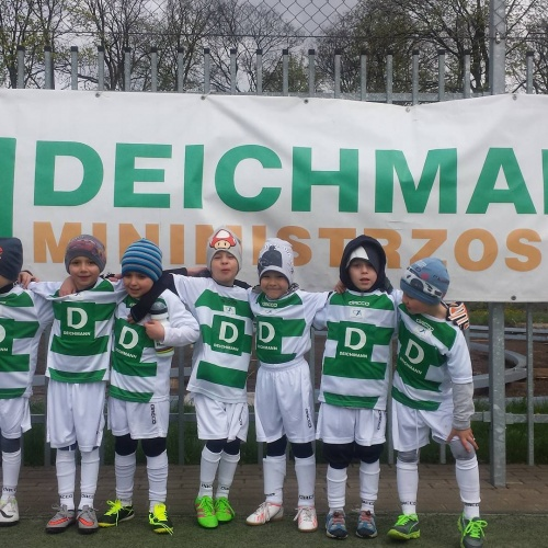 Przedszkolaki na turnieju Deichmanna