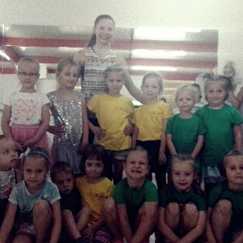Dzień dziecka w sekcji tanecznej